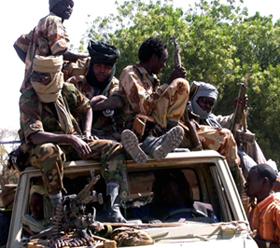 Janjaweed in Sudan