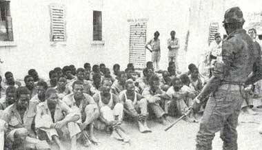 Libyan prisoners in Chad